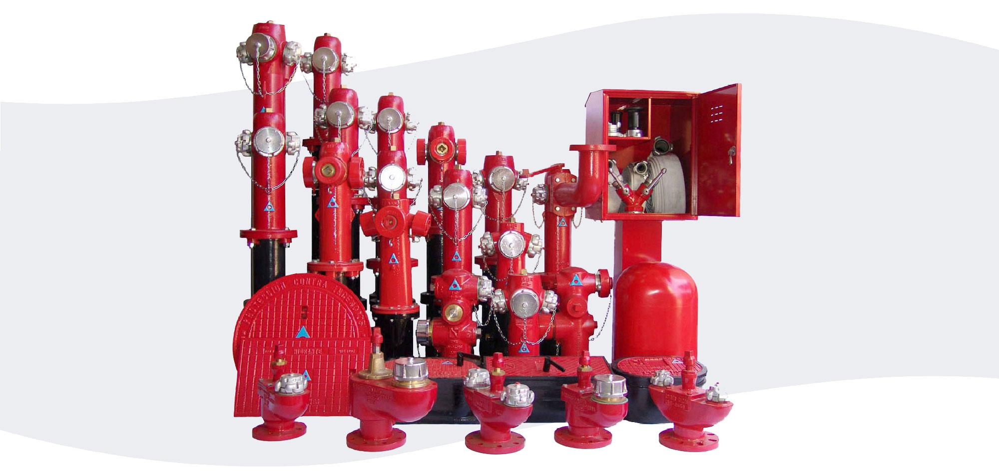 Hidrantes fabricados por ANBER