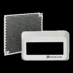 Detector lineal de humos con barrera óptica