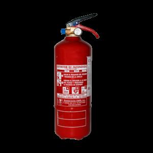 Extintor de polvo ABC de 2kg