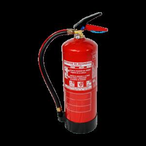 Extintor de polvo ABC de 6kg