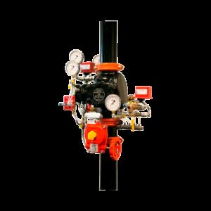 Puesto de control seco modelo EX de baja presión
