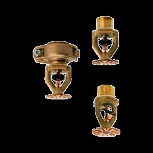 Sprinklers colgantes modelo JL-14 y JL-17