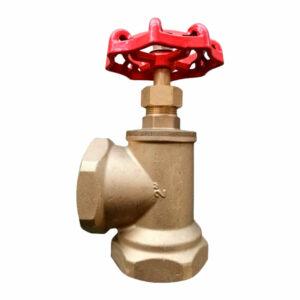 Válvula angular de asiento para puestos de control H-H
