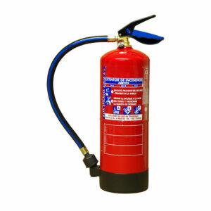 Extintor hídrico de 6 Litros EXTRA ALTA EFICACIA